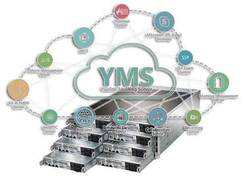 Кластер системы видеоконференцсвязи на базе Yealink Meeting Server - 1