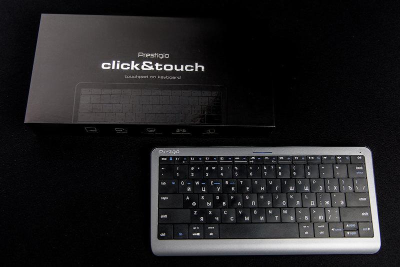 Первая в мире клавиатура-тачпад: революция на рынке?