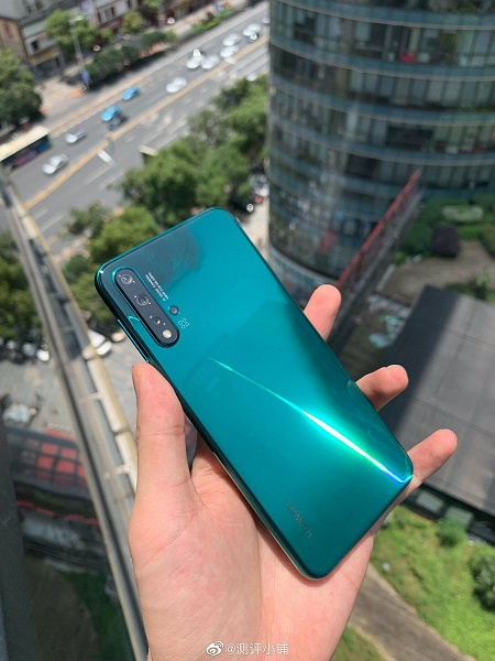 Huawei Nova 5 Pro: живые фото, пользовательский интерфейс и первое фото с основной камеры