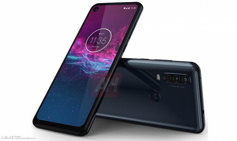 Motorola One Action красуется на официальном рендере