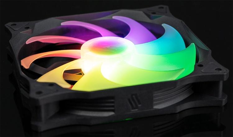 SilentiumPC Stella HP: вентиляторы охлаждения диаметром 120/140 мм с подсветкой
