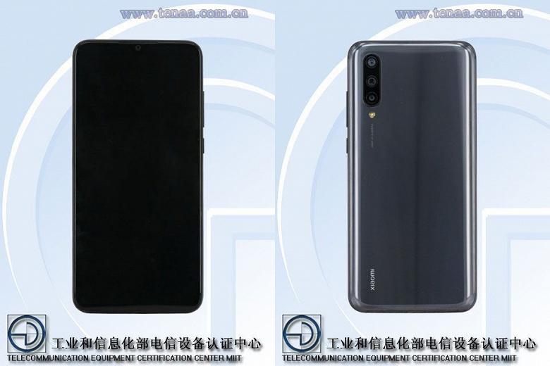 Xiaomi CC9 получил экран диагональю 6,39 дюйма и аккумулятор на 3900 мА•ч
