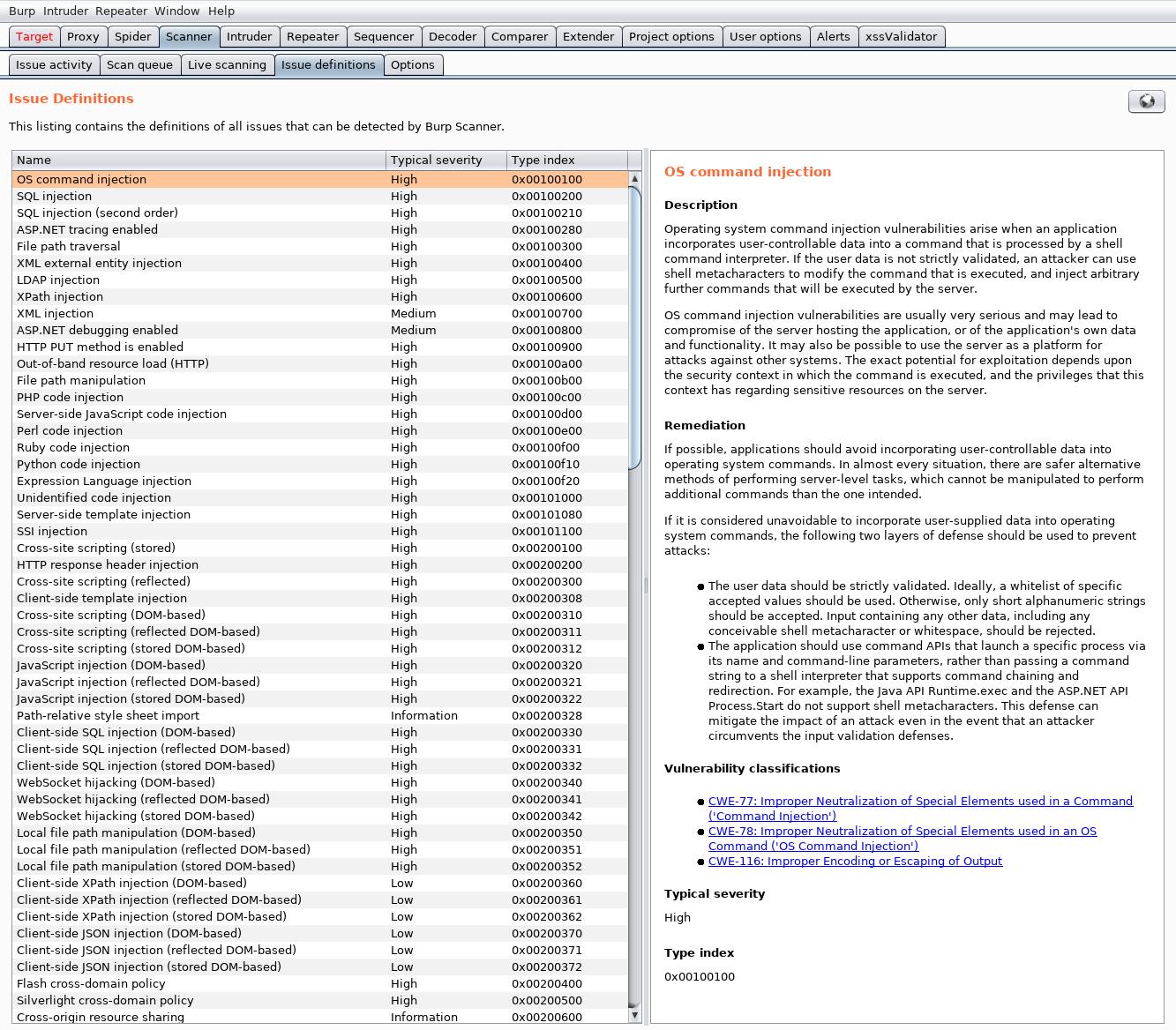 Чем искать уязвимости веб-приложений: сравниваем восемь популярных сканеров - 20