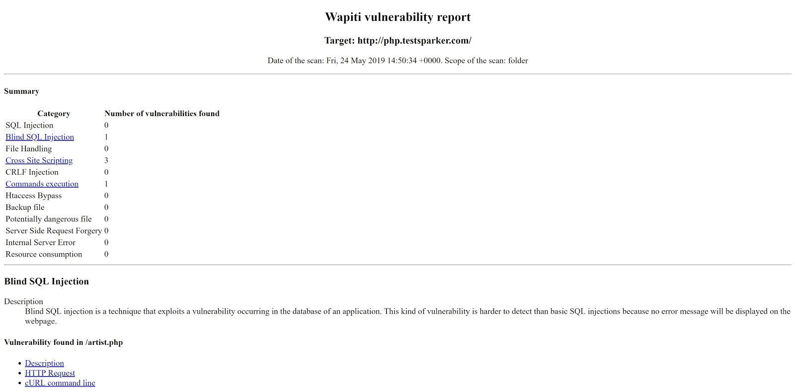 Чем искать уязвимости веб-приложений: сравниваем восемь популярных сканеров - 9