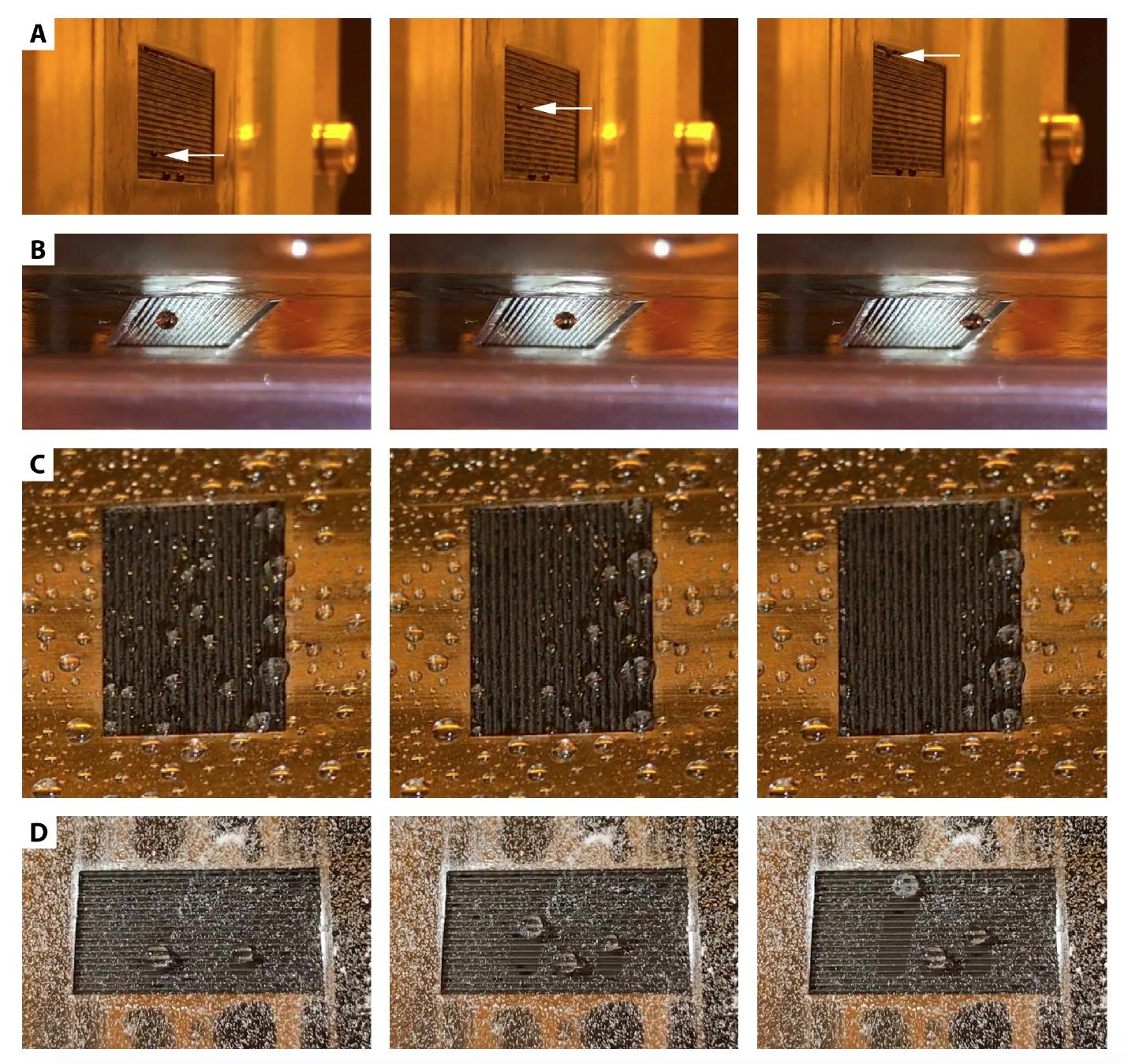 Жидкие альпинисты: манипуляции с каплями воды для создания лабораторий на чипе и технологии самоочистки - 5