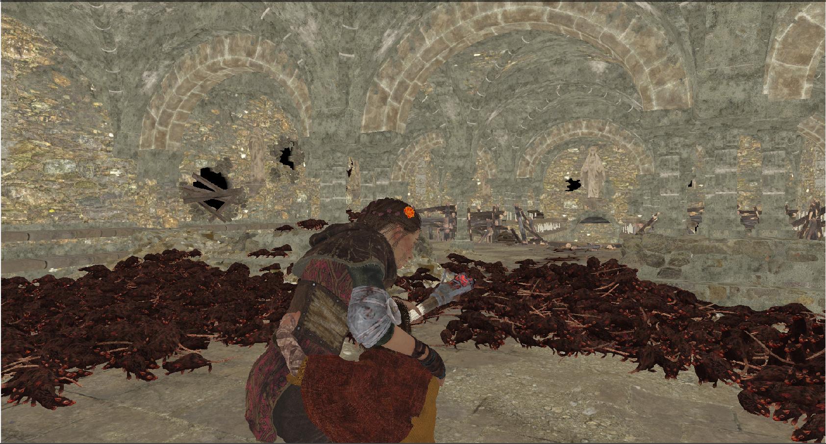 Как происходит рендеринг кадра A Plague Tale: Innocence - 21