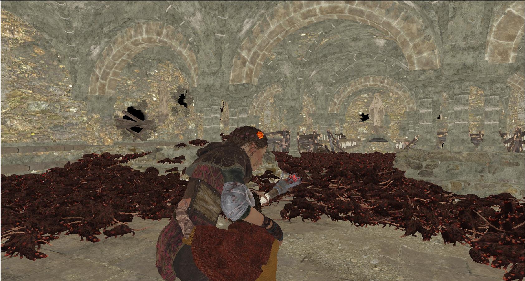 Как происходит рендеринг кадра A Plague Tale: Innocence - 22