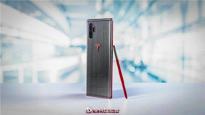 Коллаборация Samsung и Tesla. Корейский гигант может выпустить смартфон Galaxy Note10 Tesla Edition