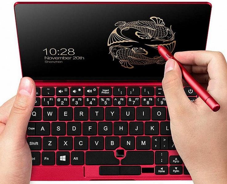 Крошечный ноутбук One Mix 1S Yoga получит семидюймовый экран и 8 ГБ ОЗУ