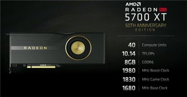 Видеокарта AMD Radeon RX 5700 XT 50th Anniversary Edition будет продаваться не только в Китае и США, но и в Европе тоже