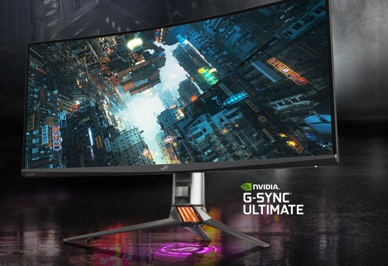 Asus ROG Swift PG35VQ — игровой монитор с кадровой частотой 200 Гц, ЦАП ESS 9118 и активной системой охлаждения