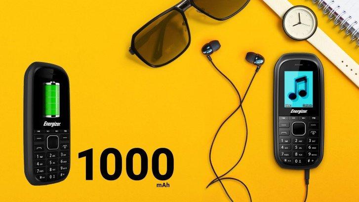 Energizer E12 — телефон за 12 евро с двумя SIM-картами, мультимедийными кнопками, поддержкой MP3 и MicroSD