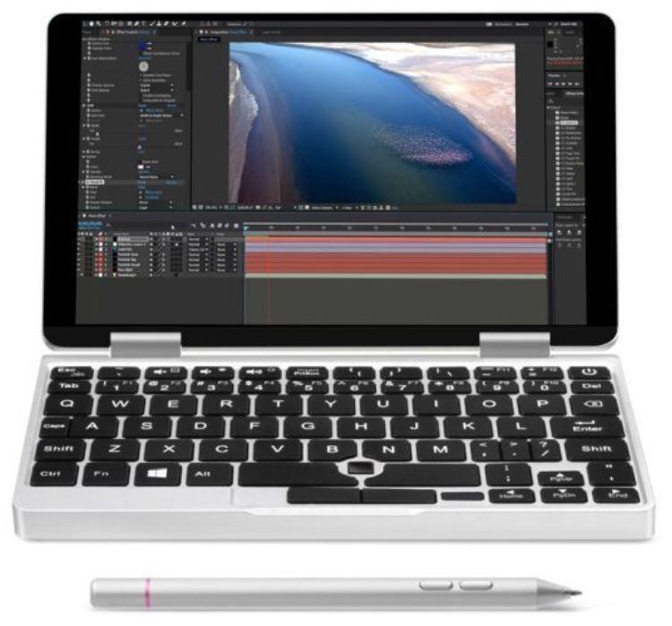 One Mix 1S Yoga: ультракомпактный ноутбук с поддержкой перьевого управления