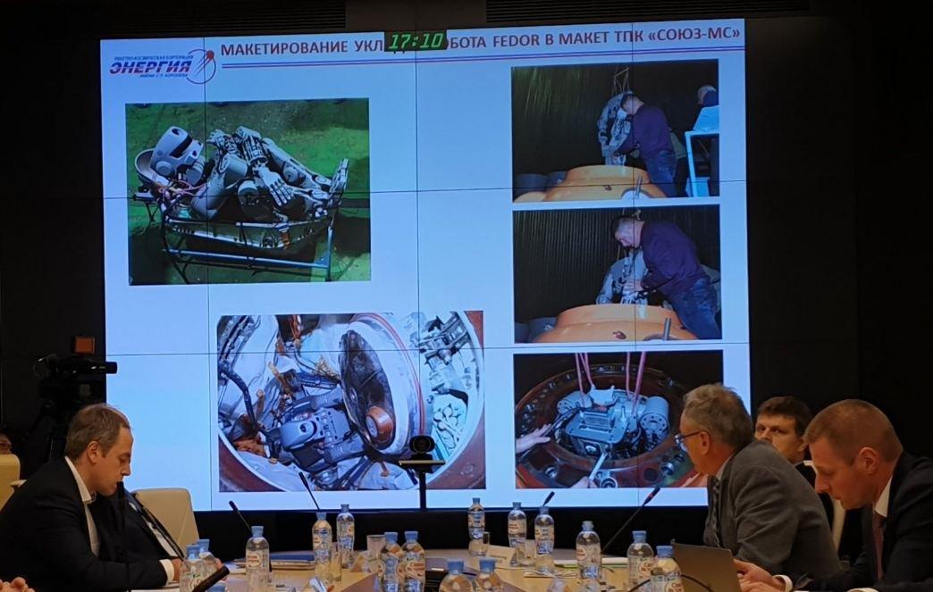 Как доработали робота FEDOR и кресло для полета на МКС - 1