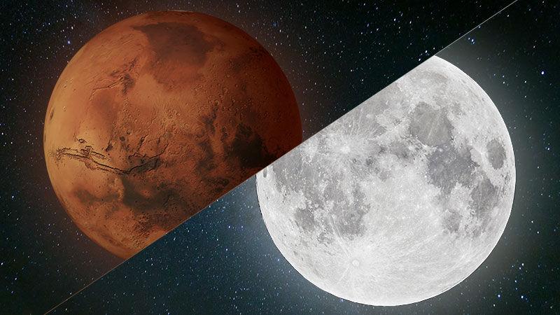 Куда полетят американцы: на Марс или на Луну? - 1