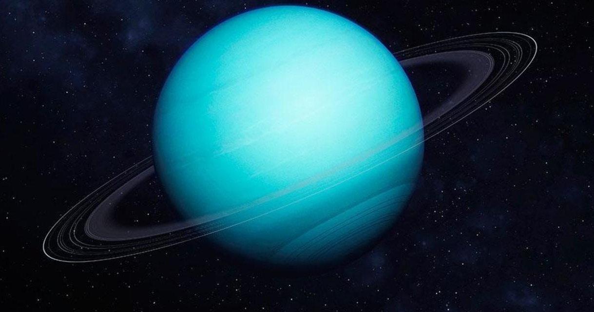 Обнаружено свечение колец Урана