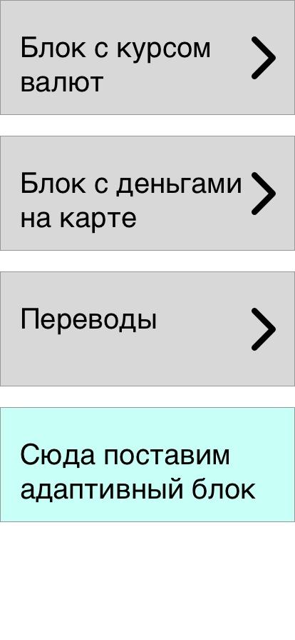 Адаптивный дизайн приложения под каждого пользователя - 1
