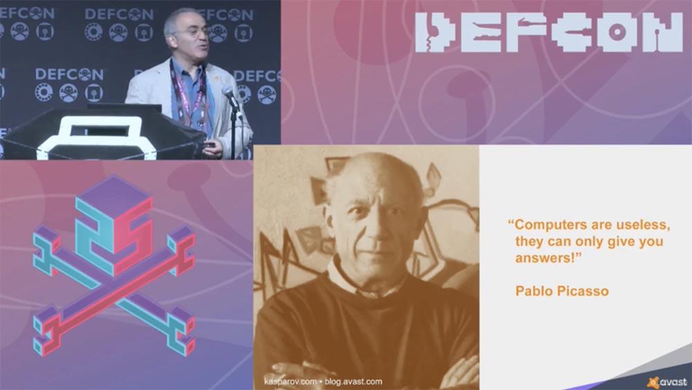 Конференция DEFCON 25. Гарри Каспаров. «Последняя битва мозга». Часть 1 - 11