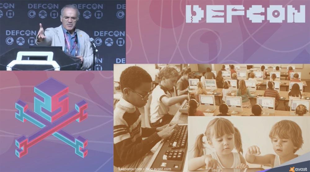 Конференция DEFCON 25. Гарри Каспаров. «Последняя битва мозга». Часть 1 - 9