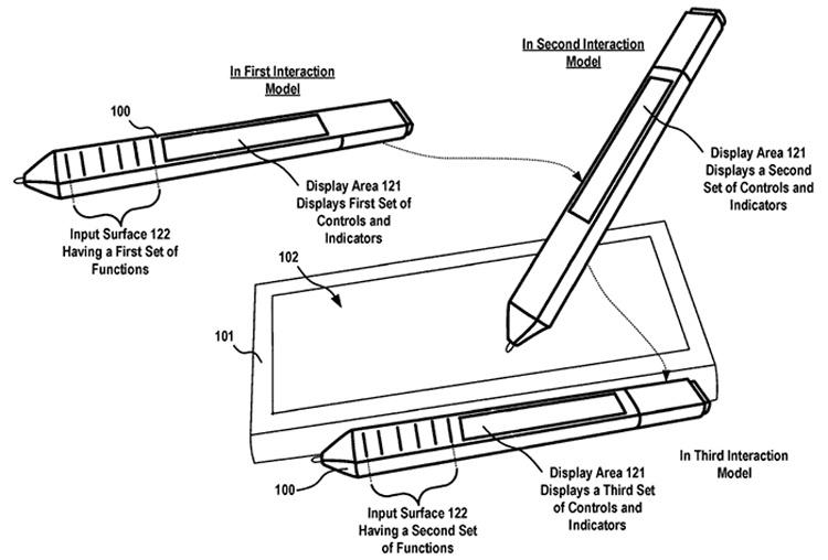 Перо Microsoft Surface Pen может обзавестись дисплеем