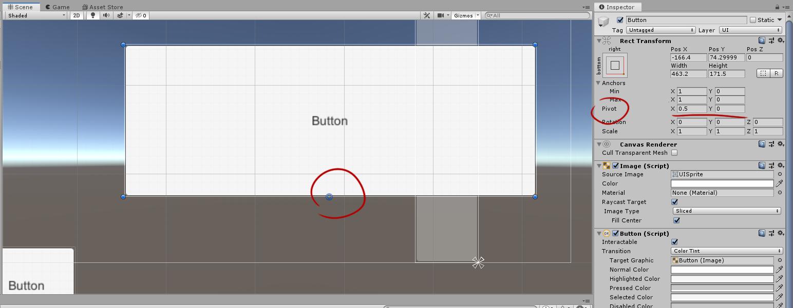RectTransformUtility, или как сделать компонент, который анимированно сдвигает элементы UI за экран - 1
