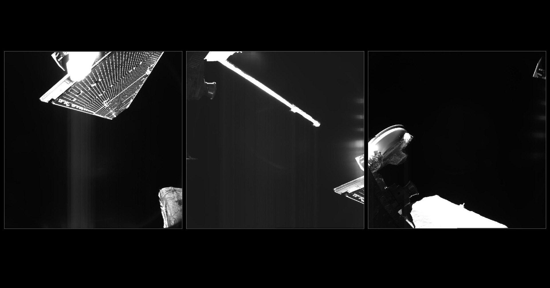 Аппарат BepiColombo сделал селфи на пути к Меркурию