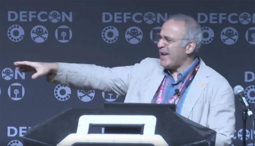 Конференция DEFCON 25. Гарри Каспаров. «Последняя битва мозга». Часть 2 - 2