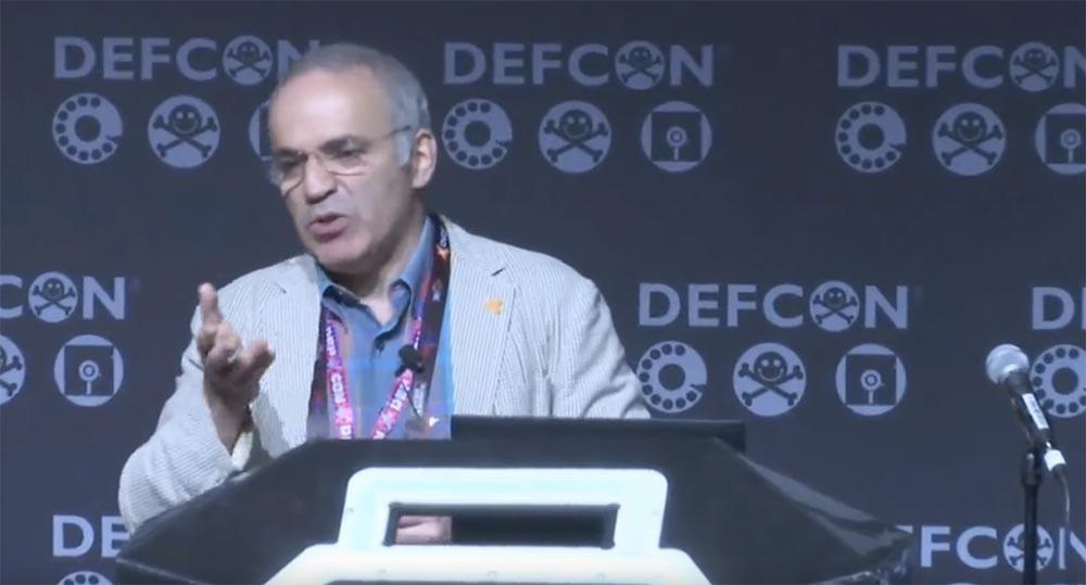 Конференция DEFCON 25. Гарри Каспаров. «Последняя битва мозга». Часть 2 - 3