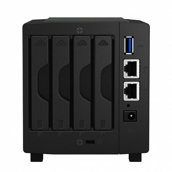 Производитель называет хранилище с сетевым подключением Synology DiskStation DS419slim «персональным облаком на ладони»
