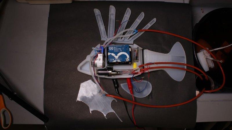 Создан робот-рыба с собственной кровеносной системой