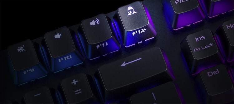 ASUS ROG Strix Scope Deluxe: механическая клавиатура с RGB-подсветкой