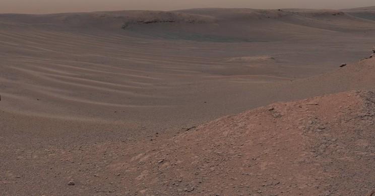 Curiosity зафиксировал выброс метана в атмосферу Марса - 1