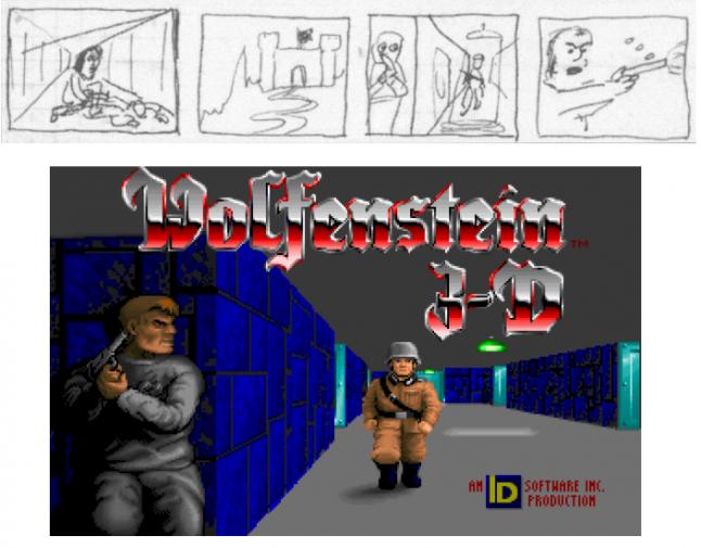 Как id Software создавала Wolfenstein 3D на основе технологий из Commander Keen - 19