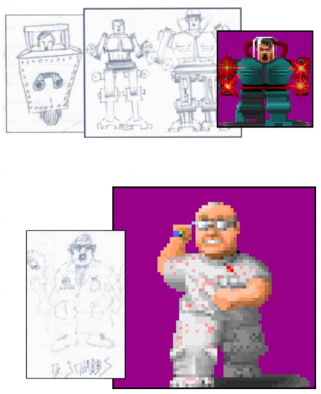 Как id Software создавала Wolfenstein 3D на основе технологий из Commander Keen - 20