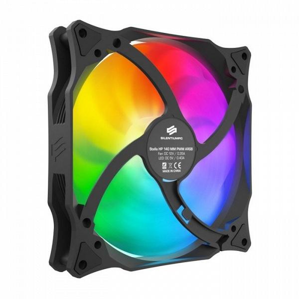 Корпусные вентиляторы SilentiumPC Stella HP предложены в вариантах с подсветкой RGB и ARGB