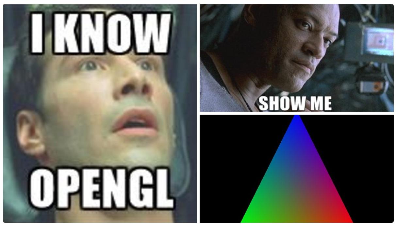 Суперсовременный OpenGL. Часть 1 - 1