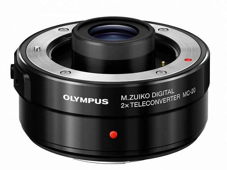 Телеконвертор Olympus M.Zuiko Digital 2x Teleconverter MC-20 стоит 429 долларов