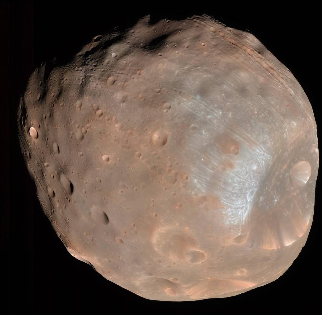 Япония хочет запустить планетоход, который посетит марсианскую луну - 1