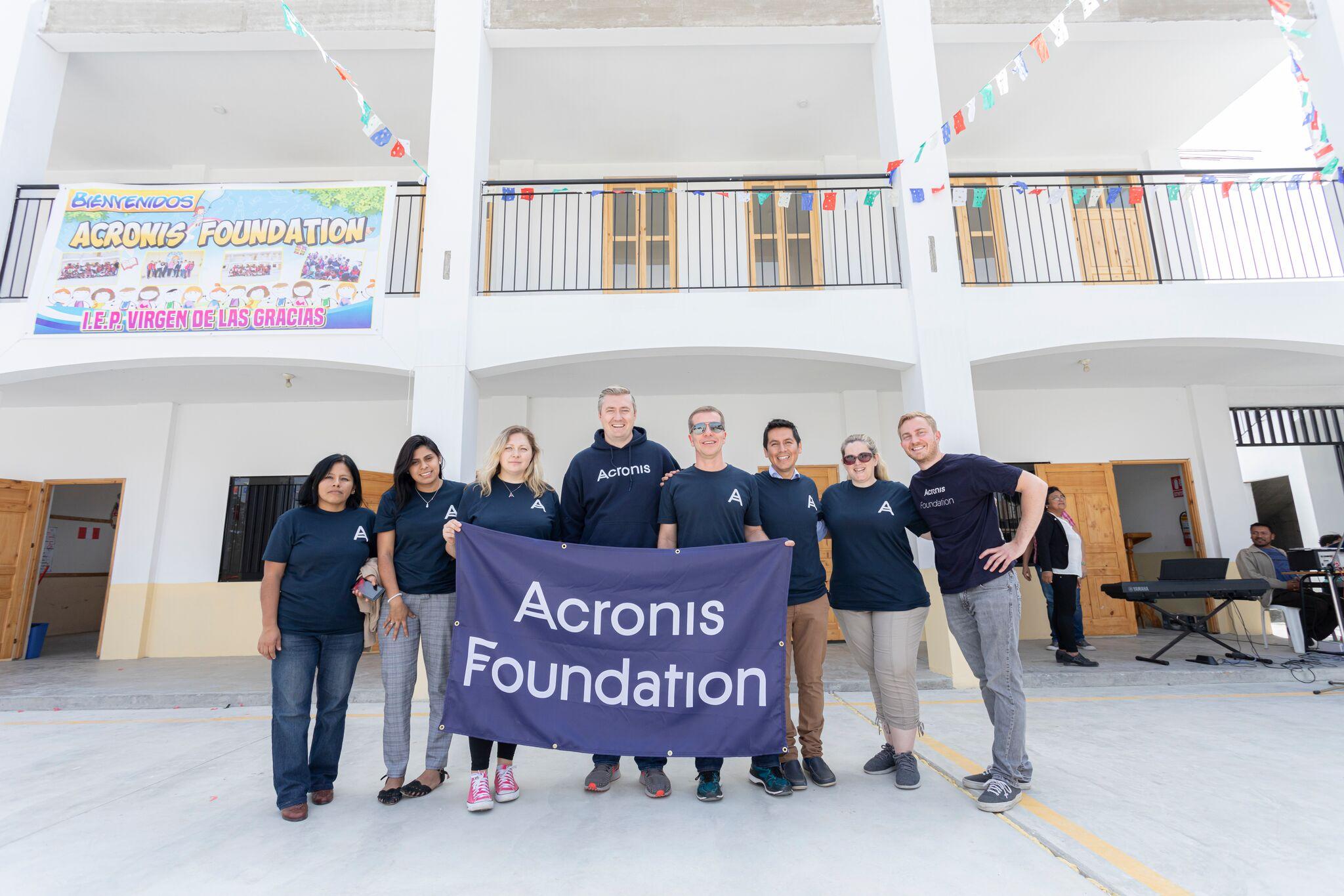 Acronis Foundation: школы построены уже в 8 странах мира. Вы с нами? - 2