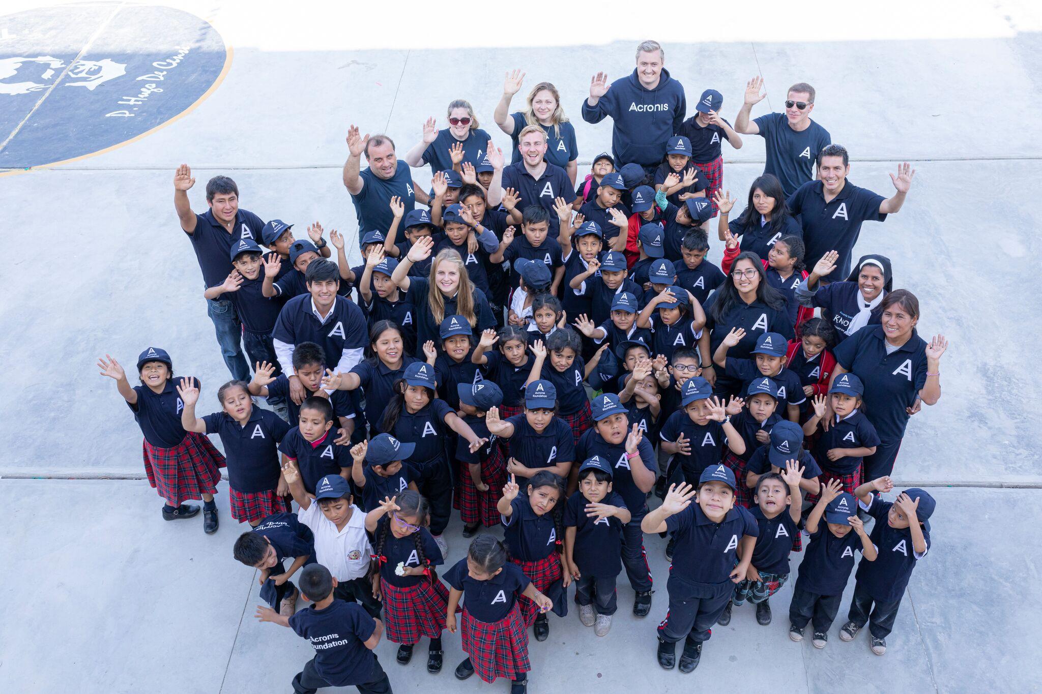 Acronis Foundation: школы построены уже в 8 странах мира. Вы с нами? - 1