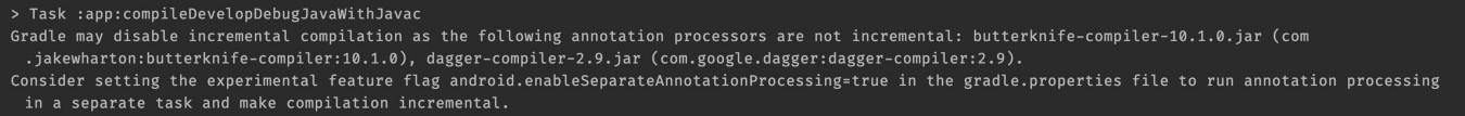 Уменьшаем время сборки ваших Android-проектов - 8