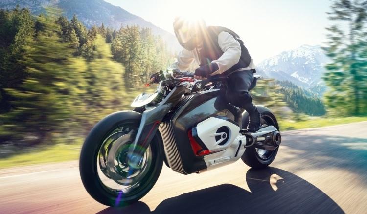 BMW намекает на будущее электрических мотоциклов, демонстрируя концепт Motorrad Vision DC Roadster