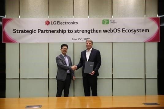Qt и LG Electronics предлагают использовать webOS в автомобилях, роботах и умных домах