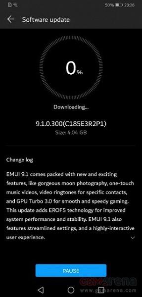 Как у Huawei P30 Pro. Смартфон Huawei Mate 20 X получил обновление EMUI 9.1 с новыми функциями