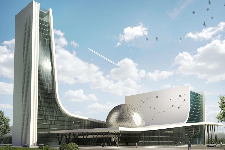 Принято решение о постройке Национального космического центра в Москве на месте ГКНПЦ им. Хруничева - 3