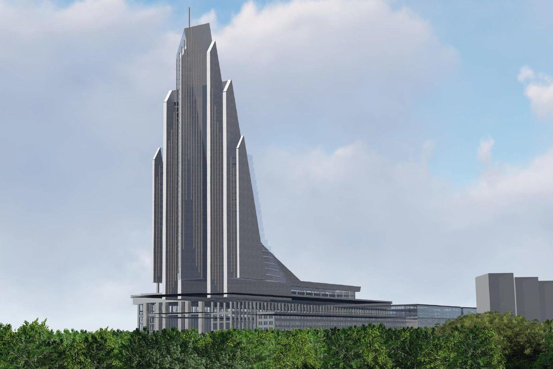 Принято решение о постройке Национального космического центра в Москве на месте ГКНПЦ им. Хруничева - 6