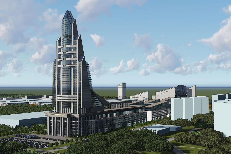 Принято решение о постройке Национального космического центра в Москве на месте ГКНПЦ им. Хруничева - 1