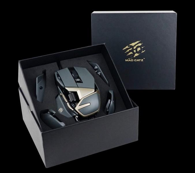 Тридцатилетие компании Mad Catz отмечено выпуском мыши R.A.T. 8+ 1000 Optical Gaming Mouse