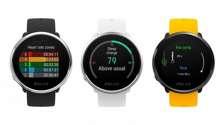 Polar Ignite — мультиспортивные часы, способные отслеживать более 100 различных видов физической активности