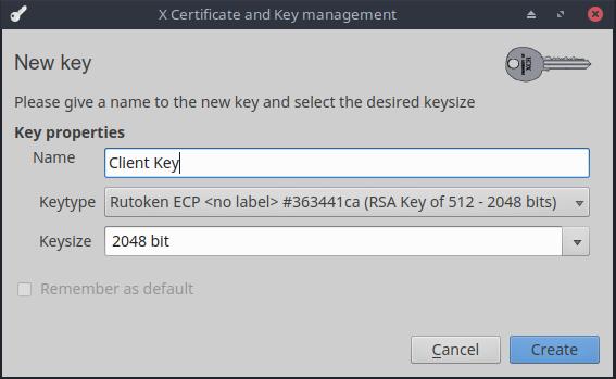 Двухфакторная аутентификация на сайте с использованием USB-токена. Теперь и для Linux - 5
